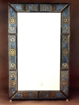 Mirrors: Rectangular Mirror, big   Bruber 1960   Artistic Murano's