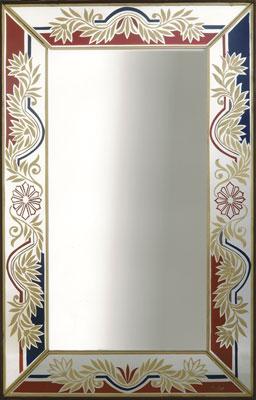 Specchi Specchio Liberty Argento Bruber 1960 Vetri